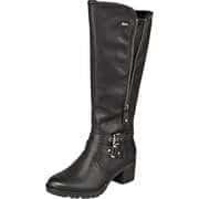 Relife Wasserabweisende Schuhe Langschaftstiefel  schwarz
