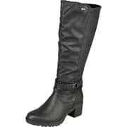 Relife Stiefel Komfort Langschaftstiefel  schwarz