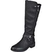 Relife Klassische Stiefel Langschaftstiefel  schwarz