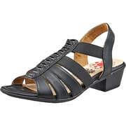 Relife Komfort Sandale  schwarz