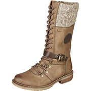 Relife Wasserabweisende Schuhe Schnürstiefel  braun