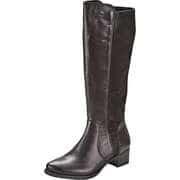 Remonte Schwarze Schuhe Langschaftstiefel  schwarz