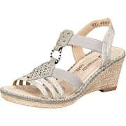 Remonte Damen Sommerschuhe Sandale  beige