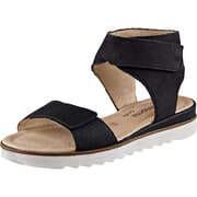 Remonte Schaft Sandale  schwarz