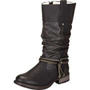 Rieker Biker & Cowboy Style 3/4 Stiefel  schwarz