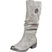 Rieker Stiefel Langschaftstiefel  grau