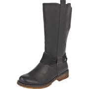 Rieker Schwarze Schuhe Langschaftstiefel  schwarz