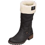 Rieker Tex Schuhe Langschaftstiefel  schwarz