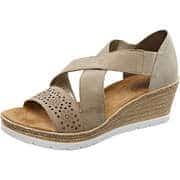 Rieker Sommerschuhe Sandale  beige