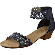 Rieker Neuheiten Sandale  blau
