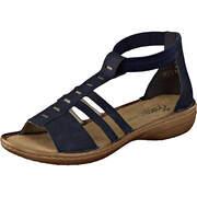 Rieker Schaft Sandale  dunkelblau