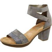 Rieker Schuhe Sandale  grau