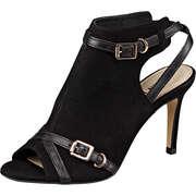 San Marina Schaft Sandale  schwarz