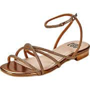 BIBI LOU Gelbe Schuhe Sandale  bronze