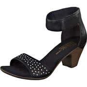 Rieker Schaft Sandale  schwarz