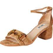 BIBI LOU Damen Sommerschuhe Sandale  braun