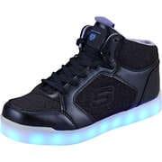Skechers Sneaker High E Pro Glitter Glow  blau