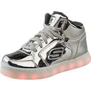 Skechers Schuhe Energy Lights Dance N Dazzle  silber