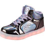 Skechers Sneaker High Energy Lights Shiny Bright  lila
