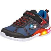 Skechers Sneaker Low Erupters II Lava Waves  schwarz