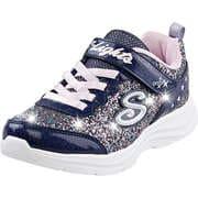 Skechers Blaue Schuhe Glimmer Kicks Glitter N Glow  blau