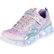 Skechers Kinder Sommerschuhe Heart Lights  pink
