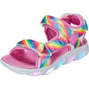 Skechers Sandalen S Lights Hypno Splash Rainbow  bunt