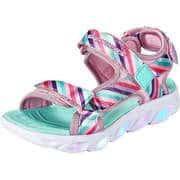 Skechers Kinder Sommerschuhe S Lights Hypno Splash Rainbow  bunt