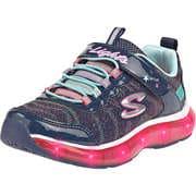 Skechers Sneaker Low S Lights Light Sparks  blau