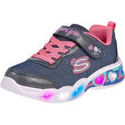 Skechers Sneaker Low Sweetheart Lights Shimmer Spel  blau