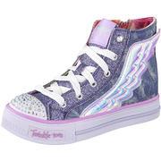 Skechers Sneaker High Twinkle Toes Shuffles Flutter  blau