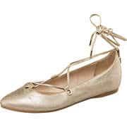 s.Oliver Abendschuhe Ballerina  gold