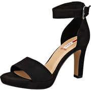 s.Oliver Festliche Damenschuhe Sandale  schwarz