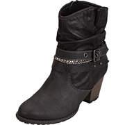 s.Oliver Biker Boots Stiefelette  schwarz