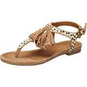 SPM Zehentrenner Sandale  beige