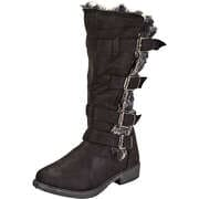 Studio London Schwarze Schuhe Stiefel  schwarz