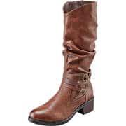 Sylvine Wasserabweisende Schuhe Langschaftstiefel  braun