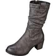 Sylvine Damen Winterschuhe Stiefel  grau