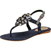 Tendenzza Zehentrenner Sandale  blau