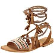 Tendenzza Riemchen Sandale  camel