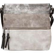Tom Tailor Taschen Amelia- Schultertasche  grau