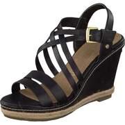 Tom Tailor Keil Keil-Sandale  schwarz