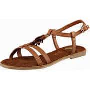 Tom Tailor Riemchen Sandale  beige