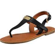 Tom Tailor Sommerschuhe Sandale  schwarz