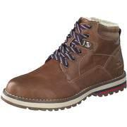 Tom Tailor Stiefel Schnür Boots  braun