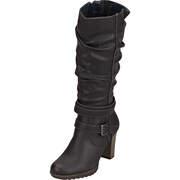 Tom Tailor klassische Stiefel Stiefel  schwarz
