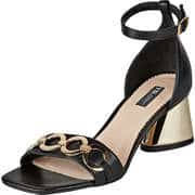 Tosca Blu Damen Sommerschuhe Sandale  schwarz