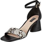 Tosca Blu Schwarze Schuhe Sandale  schwarz