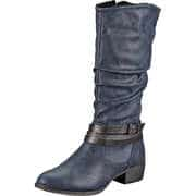 Via della Rosa Klassische Stiefel Stiefel  blau