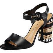 Vicenza Riemchen Istanbul-Sandale  schwarz